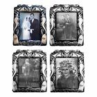 HOLOGRAPHIC SCARY CHANGING PICTURE HALLOWEEN SPOOKY VINTAGE DECORATION