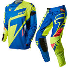 Shift 2015 Motocross Hose Jersey Faction Mainline Blau Enduro Cross MTB Quad