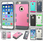 Apple iPhone 6 4.7 Tuff Trooper HYBRID TPU Case Cover Accessory + Screen Guard