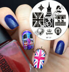 Nail Art Stamp Template Image Stamping Plates Manicure DIY BORN PRETTY #37