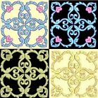 Anemone Quilt #5, Design 5-in 4 sizes-Anemone Quilt Designs & Embroidery Singles