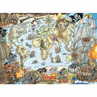 Jigsaw Puzzle ~ Ravensburger ~ 'PIRATE MAP'' ~ 200 XXL Piece Puzzle