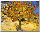 Stretched Giclee Art Print Mulberry Tree Vincent van Gogh Painting Reproduction