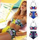 2015 SUMMER Womens Sexy Bandage Bikini Set Push-up Padded Bra Swimsuit Swimwear