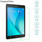 100% Genuine Tempered Glass Screen Cover Protector For Samsung Galaxy Tablets