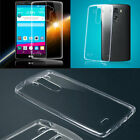 Clear Transparent Ultra Thin Soft TPU Phone Protect Back Case Cover for LG G4 G3