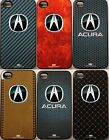 Acura Logo Apple iPhone 4 & 4S Cell Phone Case Protector - 6 Styles! MDX RDX TLX