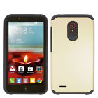 For Alcatel OneTouch Conquest HARD Astronoot Hybrid Rubber Silicone Phone Case