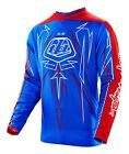 Troy Lee Designs 2016 GP Jersey Pinstripe Blue Mens Size SM-2XL