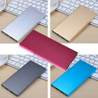 20000mAh Portable Ultra-thin SCM External Battery Charger Power Bank for Phones