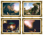 Voyage of Life Childhood Youth Manhood Old Age Thomas Cole Christian Repro Print