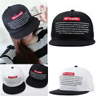 Men Women Adjustable Baseball Cap Unisex Bboy USA Flag Hip-hop Snapback Hat