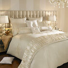 Karissa Oyster Bedlinen by Kylie Minogue At Home...Free UK,Europe & USA Delivery