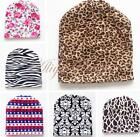 Infant Baby Hat Beanie Toddler Girl Warm Photography Cap Floral Zebra Party Gift