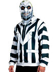 Beetlejuice Hoodie Adult Mens Teens Funny Ghost Jacket Halloween Costume