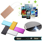 20000mAh Ultrathin Portable External Battery Charger Power Bank for Cell Phone