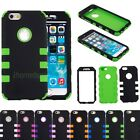 Hybrid Rugged Heavy Protective Hard Impact Rubber Case Cover for iPhone 6 6s