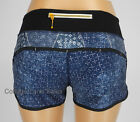 NEW LULULEMON Run Speed Short 4 6 8 10 Exploded Sashiko Inkwell Ghost Shorts