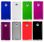For Sprint HTC 8XT Frosted TPU CANDY Flexi Gel Skin Case Cover +Screen Protector