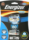 ENERGIZER VISION HEADLIGHT POWERFUL 80 LUMENS 2 MODES INC BATTERIES FREEPOST UK