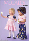 McCall's 7178 Sewing Pattern to MAKE Top Dress & Trousers Child/Toddler Sizes