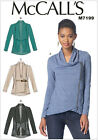 McCall's 7199 Sewing Pattern to MAKE Stretch Semi Fitted Unlined Jackets
