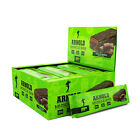 MUSCLEPHARM ARNOLD SERIES IRON MUSCLE BAR 12X90G HIGH PROTEIN & CARBS LOW FAT