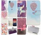 For HTC Desire 626 Premium Leather Wallet Case Pouch Flip Phone Cover Accessory