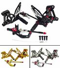 CNC Adjustable Rearsets Rear Set Foot Peg For 12-15 MV Agusta F3 Brutale 675 800