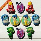 New Hot 10-100PCS Inside Out PVC SHOE CHARMS For Bands JIBZ Bracelets Kids Gifts