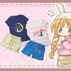 HOT Anime Sailor Moon T-shirt + Shorts Comfortable Home Clothes Outfits Printed