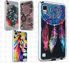 For Paragon Z753G Bling Diamond Wallet Case Flip Pouch Phone Cover +Screen Guard