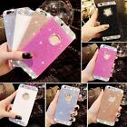 5Color Luxury Bling 3D Rhinestone Plastic Hard Back Case Cover for iPhone 5 5S 6