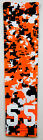 NEW Custom Number ADULT LARGE Sports Arm Sleeve DIGITAL CAMO ORANGE BLACK WHITE