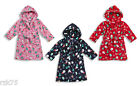 Kids Christmas Fleece Gown Robe, Super Soft Boys Girls Xmas Santa Rudolph Gowns