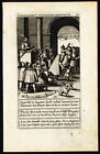 Antique Print-HERETIC-PREACHER-DEVIL-David-Galle-Wierix-1601