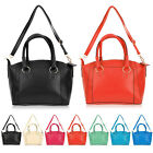 NEW Designer Large Ladies Womens Leather Style Tote Shopper Shoulder Bag Handbag