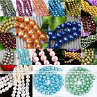 7-9mm Natural Fresh Water Pearl Loose Beads For Charm Bracelet Necklace Making