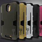 Card Stand Hybird Phone Cover Case for Motorola Droid Turbo 2 / X Force / Bounce