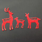 Reindeer Family - Christmas, Festive, Card Making, Assorted Sets of 9 pieces