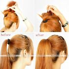 1pc Womens Volume Inserts Hair Comb Clip Bumpits Bouffant Ponytail Bun Maker Hot