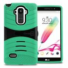 Protective Hybrid Armor Tough Kickstand Phone Cover Case for LG G Stylo