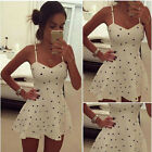 Women Sleeveless Bodycon Casual Mini Dress New Sexy Party Evening Short Dress