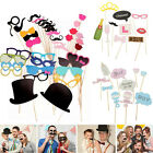 Party Photo Booth Props On A Stick Masks Moustache Glasses Frame Wedding Xmas