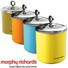 Morphy Richard Large Tea Sugar Coffee Food Biscuit Cookies Jar Canister 1.7L New