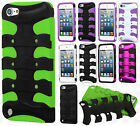 For iPod Touch 6 6th Hybrid FISHBONE Rubber Case Phone Cover Accessory