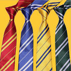 Harry Potter Hogwarts School Tie Convenient Zipper Necktie Kids Dress Up Costume