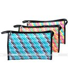Candy Travel Zip Toiletry Wash Cosmetic Makeup Bag Case Holder Organizer Pouch