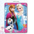 OFFICIAL NEW DISNEY FROZEN PRINCESS ELSA ANNA PINK FLEECE CHILDRENS BLANKET
