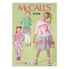 McCall's 7238 Sewing Pattern to MAKE Girls' & Plus Top, Skirt & Pants